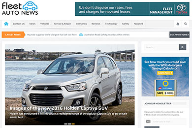 Wordpress automotive blog